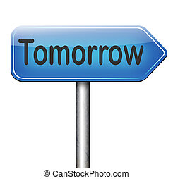 tomorrow programmation, coming soon what will the future...