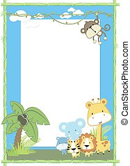 baby animal jungle - cute jungle baby animals jungle plants...