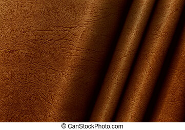 Red brown leather background - Abstract red brown leather...