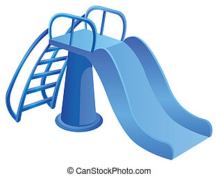 Tube Slides - illustration drawing of tube slides at...