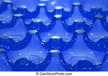 Plastic Background - A close up shot of a plastic backround