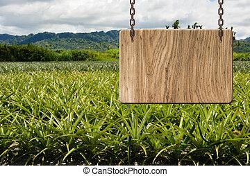 木製である, ブランク, 印