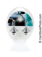 Two lamps for auto headlamps