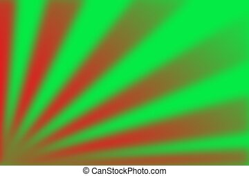 green red abstract blurred background for christmas