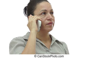 Woman Phone Uninterested and Bored
