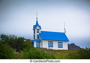 Typical Rural Icelandic Church