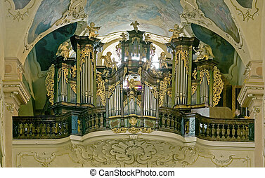 baroque organ - big baroque organ