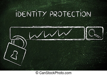 internet security and the risks for confidential information...