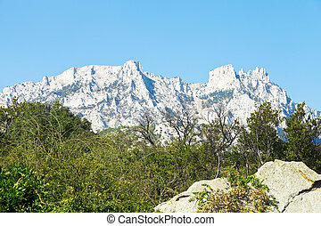 Ai-Petri mountain, Crimea - view of Ai-Petri mountain from...