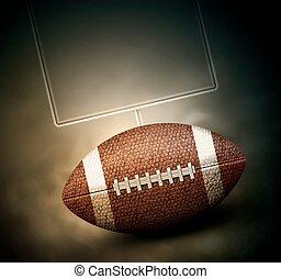 Football Background - American football background...