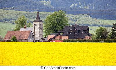 Old church at village Ludrova, Slovakia - RUZOMBEROK,...