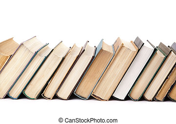books - education concept ,focus point on center of photo