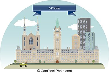 Ottawa, Canada - Ottawa. Capital of Canada. For you design