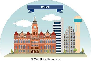 Dallas, USA. Major city in Texas
