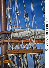 Rigging - Sailboat rigging up close