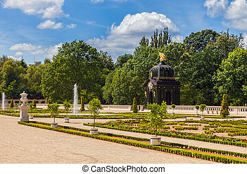 Gardens in Bialystok - Gardens of the Palace Branicki in...