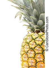 Pineapple - An isolated pinapple in a studio