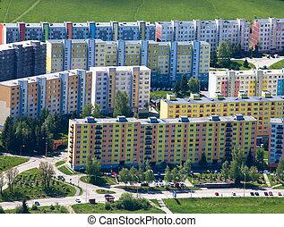 Housing development at Ruzomberok, Slovakia