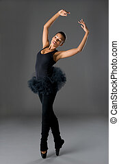 Classical Ballerina - Studio picture from a classical...