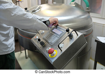 food-processing industry - image of a food-processing...