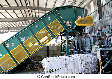 industrial automatic paper baler - Industrial sized...