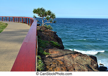 Point Danger Lookout - Tweed Heads Queensland Australia -...