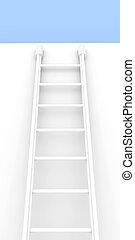 Ladder - 3D Illustration.