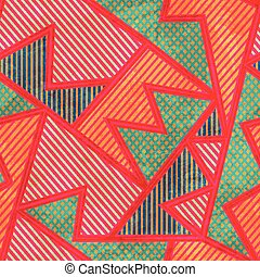 bright tissue seamless pattern with grunge effect