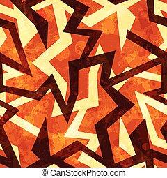 warm grunge seamless pattern