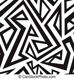monochrome african seamless texture