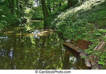 Green parks in Poland