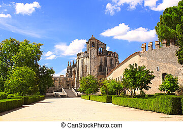 Convent of Christ in Tomar, Portugal - Templar Convent of...