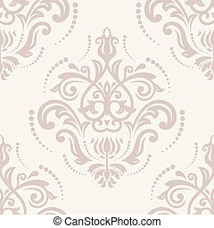 Orient Seamless Vector Pattern Abstract Background -...