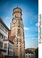 Stiftskirche church in Stuttgart, Germany