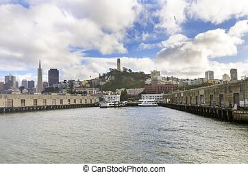 Alcatraz Pier 33, San Francisco - Pier 33 on The Embarcadero...