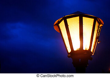 street light - street lantern in night