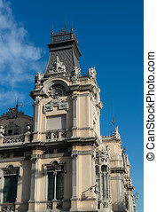 Offices of the Port of Barcelona - Details of the building...