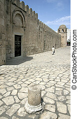 Sousse-Tunisia-mosque - Old mosque in Sousse town - Tunisia...