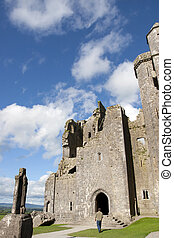 historic rock of Cashel church