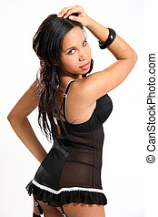 Beautiful African Glamour Model - Beautiful Young African...