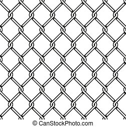 Steel Wire Mesh Seamless Background.  illustration