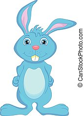 cute rabbit cartoon - illustration of cute rabbit cartoon