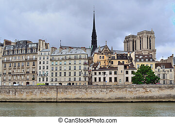 Paris, France. Cite island