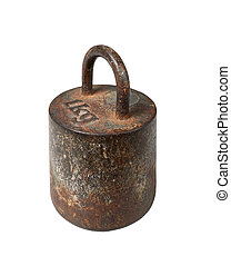 Old iron metric weight, 1 kg