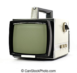 Vintage portable TV set - Vintage portable Television set...