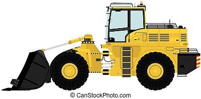Loader. - Modern loader. Vector illustration.