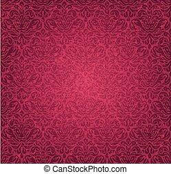 Red  vintage background design