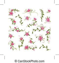 Floral collection for your design