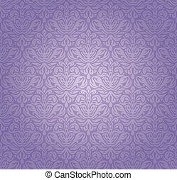 Violet vintage background design - Violet vintage seamless...