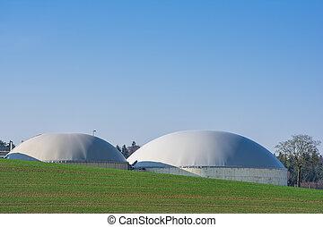 Sustainable Resources - Sustainable resources with bio gas